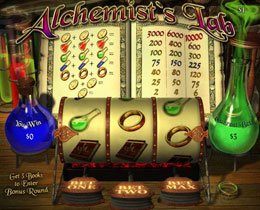 Alchemists Lab Slot Screenshot