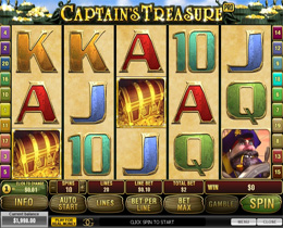 Captain's Treasure Pro Playtech Slot