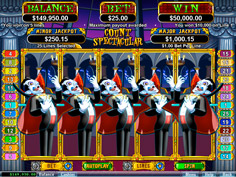 Count Spectacular RTG Online Slot Game