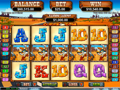 Coyote Cash RTG Online Slot Game