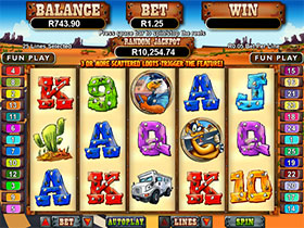 Coyote Cash Slot Screenshot