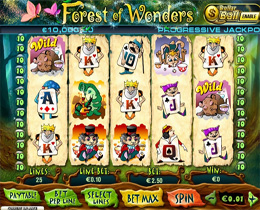 Forest Of Wonders Playtech Online Slot Game