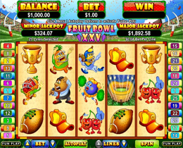 Fruit Bowl XXV Slot