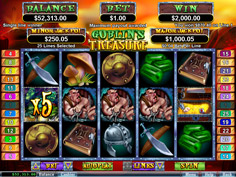 Goblins Treasure RTG Online Slot Game