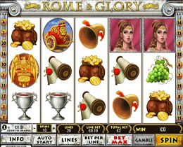 Rome And Glory Playtech Online Slot Game