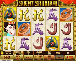 Silent Samurai Playtech Online Slot Game