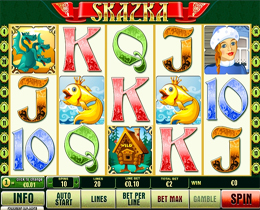 Skazka Playtech Online Slot Game