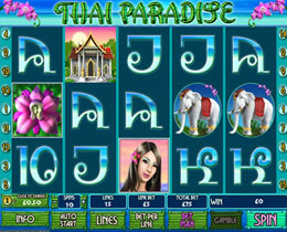 Thai Paradise Slot Screenshot
