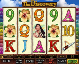 The Discovery Slot Screenshot