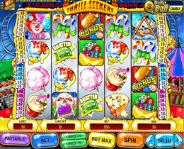 Thrill Seekers Slot Screenshot