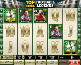Top Trumps Football Legends Slot Screenshot