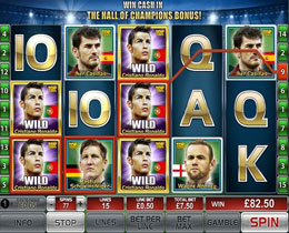 Top Trumps World Football Stars Slot Screenshot