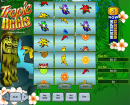 Tropic Reels Slot Screenshot